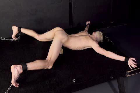 young twink In thraldom slammed unprotected By Hung Top - homo sadomasochism - DreamBoyBondage.com