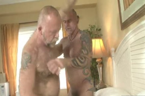 shaggy Daddies nail In gay Resort