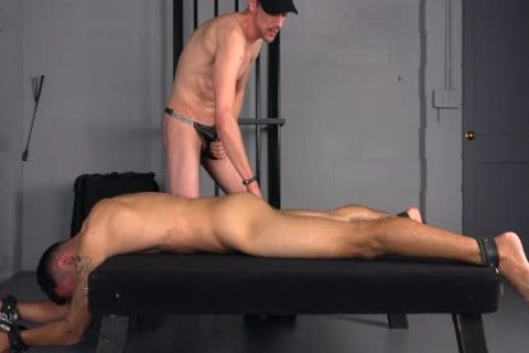 Straight ramrod nailed unprotected & Bred By Hung Top - homosexual bdsm