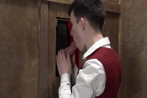 enormous cock Priest acquires oral In Church Gloryhole