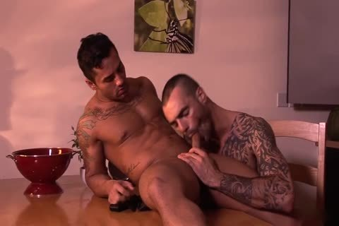 Bruno Bernal And Issac Jones Hung Suited And lusty