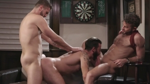 Icon Male: Link Parker with Wesley Woods handjob
