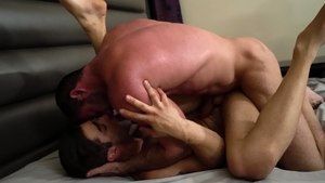 Icon Male - Muscled latin gay Lucas Leon need rough nailing HD