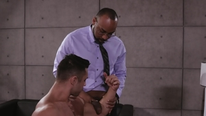 NoirMale.com - Seth Santoro have sex with ebony Ray Diesel
