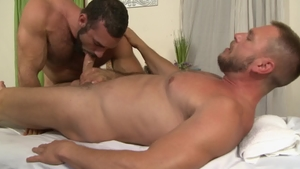 IconMale.com: Hairy and athletic Hans Berlin butt fucking