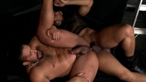 Extra Big Dicks: Ray Diesel getting facial