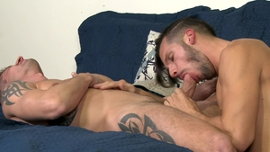 ExtraBigDicks.com - Athletic gay Sean Maygers loves hard sex