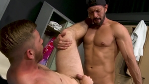 ExtraBigDicks: Latino Scott Riley really enjoys hard ramming