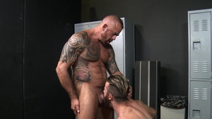Men Over 30 - Jon Galt jerking Brendan Patrick huge penis