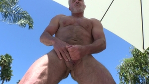 MenOver30 - Solo gay Dale Savage hard receiving facial