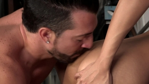 DylanLucas.com: Muscle Marco Montgomery gets hard slamming