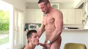 DylanLucas: Erotic Alex Chandler and Myles Landon rimming porn