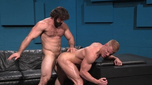 Raging Stallion: Johnny V with Jaxton Wheeler hard swallow