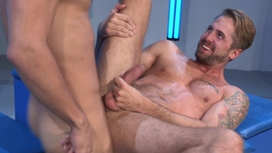 RagingStallion.com: Hairy Adam Ramzi rimming