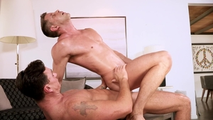 Falcon Studios: Johnny Ford throat fuck video