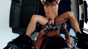 Bromo: Inked Jake Nicola doggy sex blowjob cum