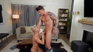 DrillMyHole.com: Andy Taylor touching big cock